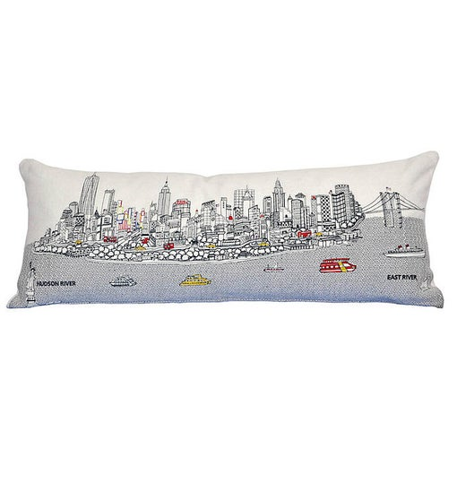 City Queen Day Pillow