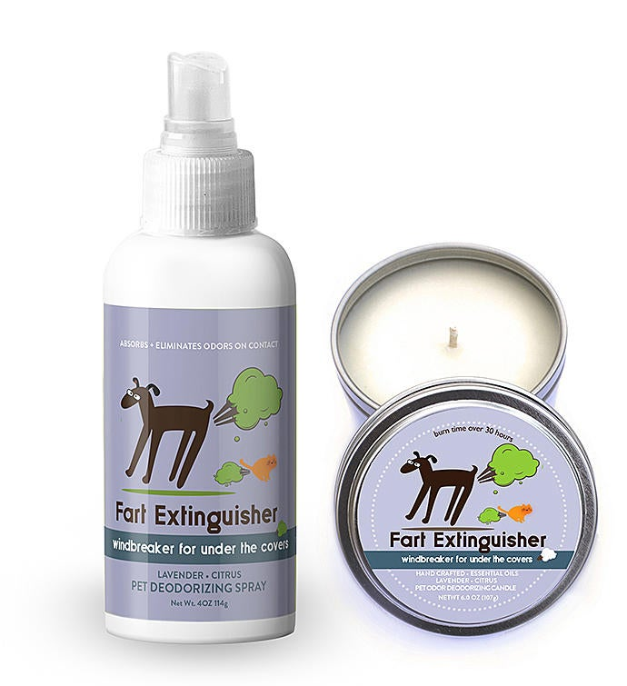 Fart Extinguisher Pet Deodorizing Set