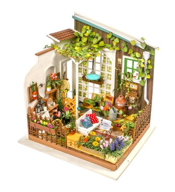 Diy 3d Dollhouse Kit - Miller's Garden