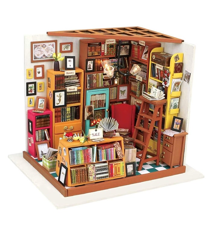 Diy 3d Dollhouse Kit - Sam39s Study
