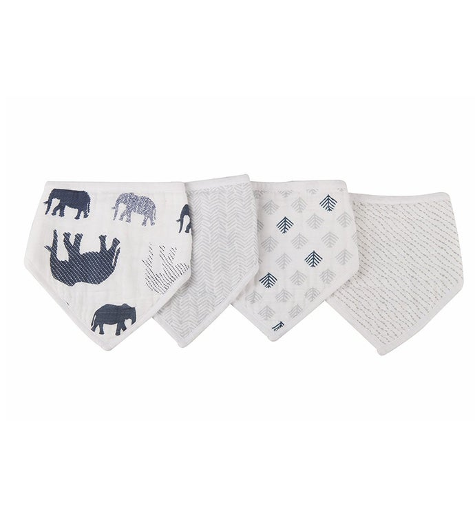 Bandana Bibs - Set of Four