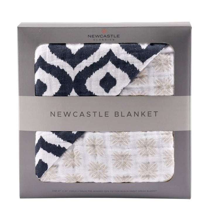 Cotton Muslin Blanket - Patterned