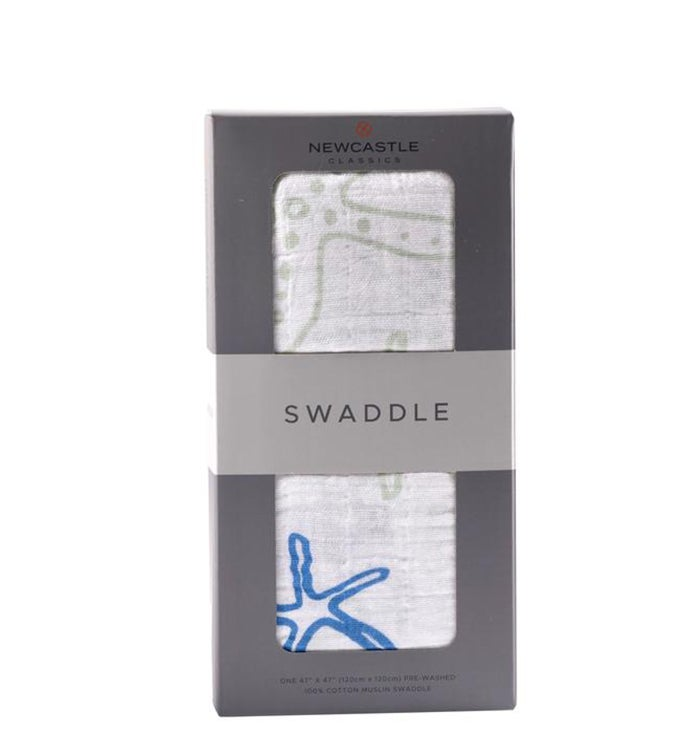 Cotton Muslin Swaddle - Nature