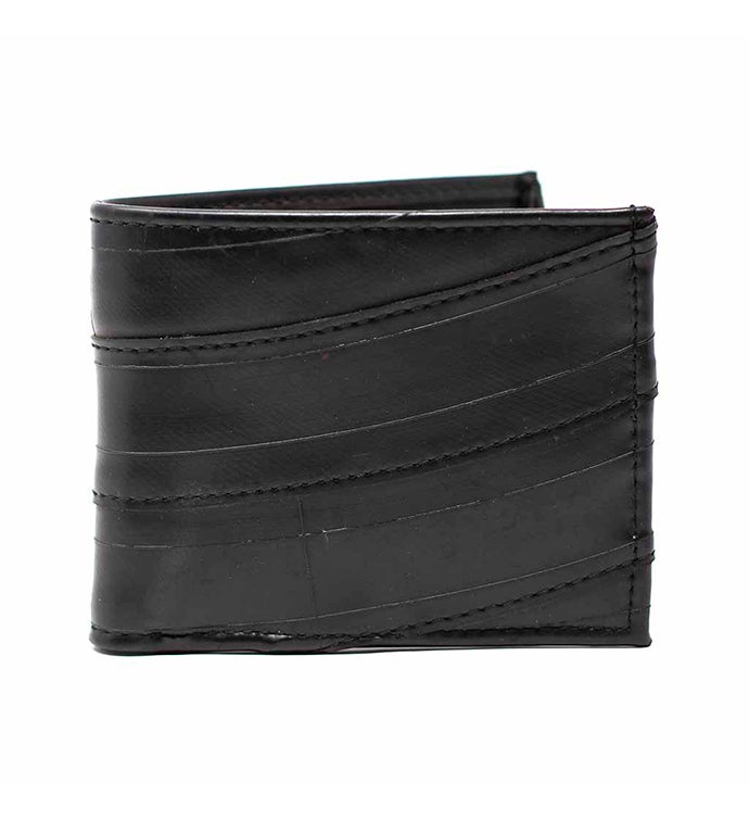 Men39s Recycled Tire Bi-fold Wallet