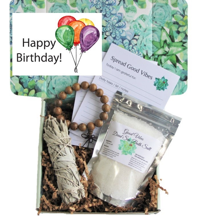 Happy Birthday Good Vibes Holistic Gift Box
