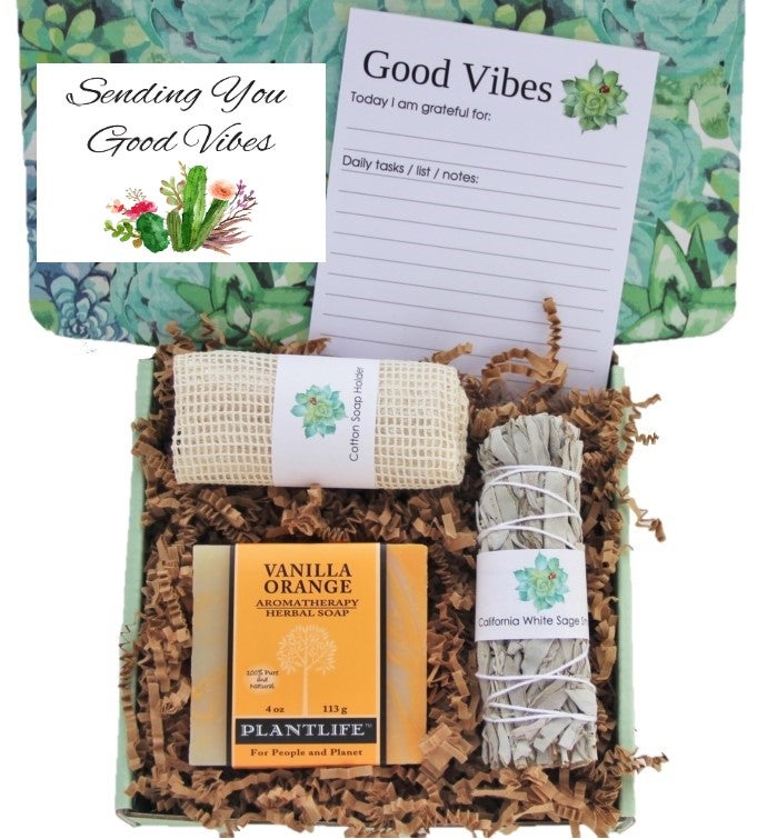 34Sending Good Vibes34 Women39s Gift Box