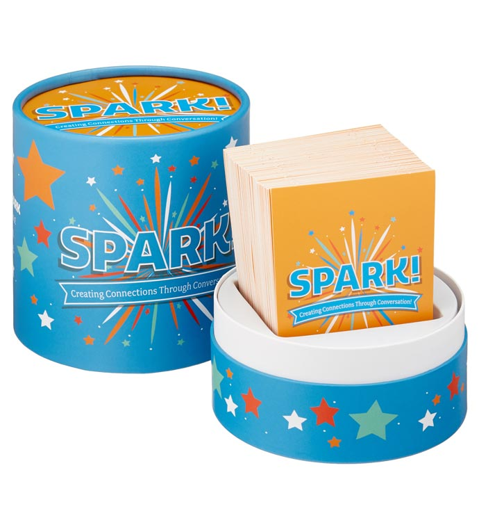 Spark! Inspiration And Conversation Card Game!
