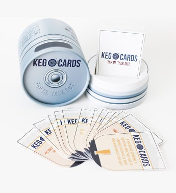 Keg O Cards  Conversation Card Game
