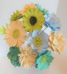 Plantable Seed Paper Flower Bouquet
