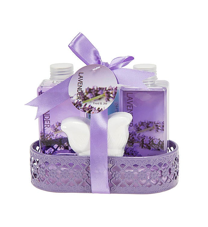Lavender Essential Oil Butterfly Gift Set