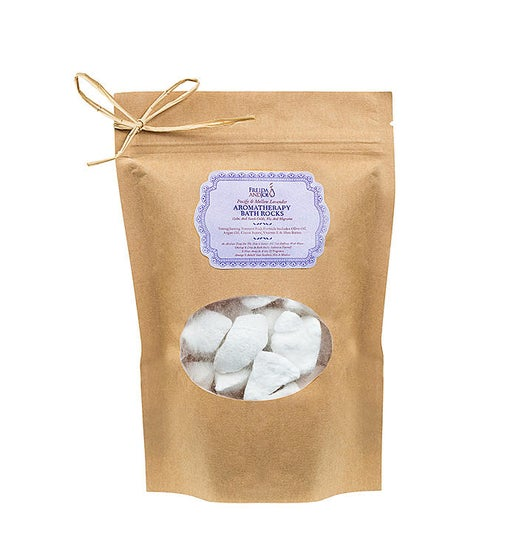 Aromatherapy Relaxing Lavender Scent Bath Rocks Set