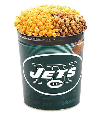 New York Jets 3-Flavor Popcorn Tins