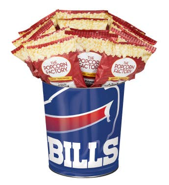 Buffalo Bills 3-Flavor Popcorn Tins