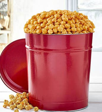 Simply Red 3-12 Gallon Pick-A-Flavor Popcorn Tins