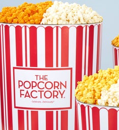 TPF Retro 6-1/2 Gallon Pick-a-Flavor Popcorn Tins