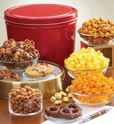 Simply Red Tin Grand Snack Assortment