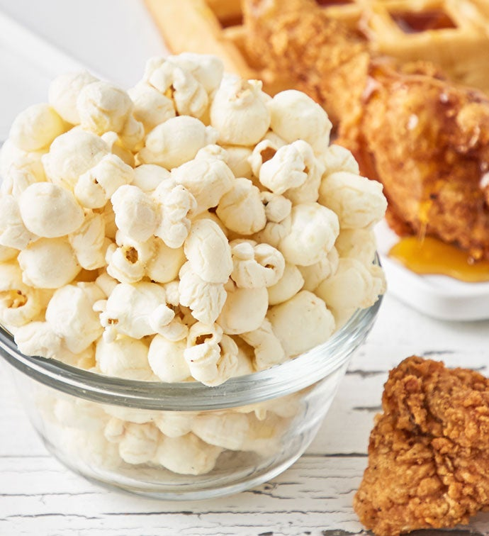 Chicken  Waffles Popcorn Canister