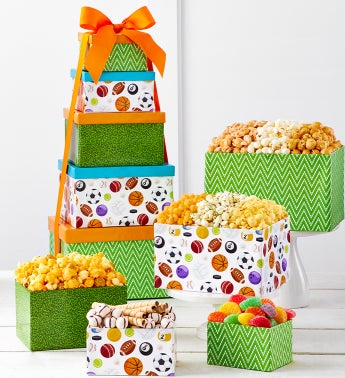 Man Cave 5 Gift Box Snack Tower