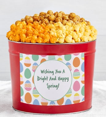 Tins With Pop Wishing You A Happy Spring