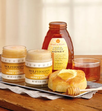 Mix  Match Honey and Honey Cr232me - 3 Jars