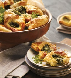 Spinach and Cheese Croissants