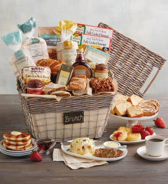 Chalkboard Brunch Basket