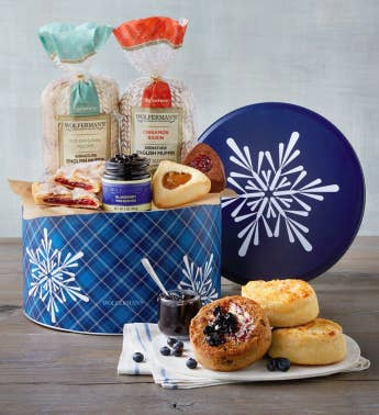 Wintertime Bakery Tin