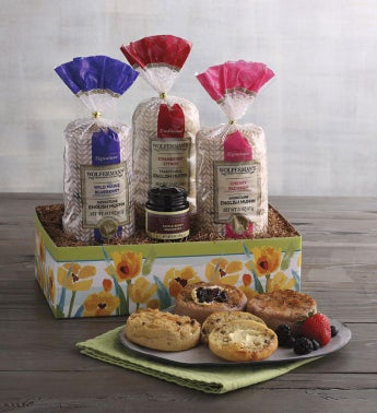 Spring English Muffin Sampler