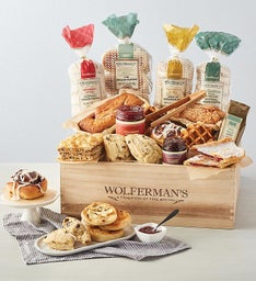 The Best of Wolferman's Bakery Gift Crate